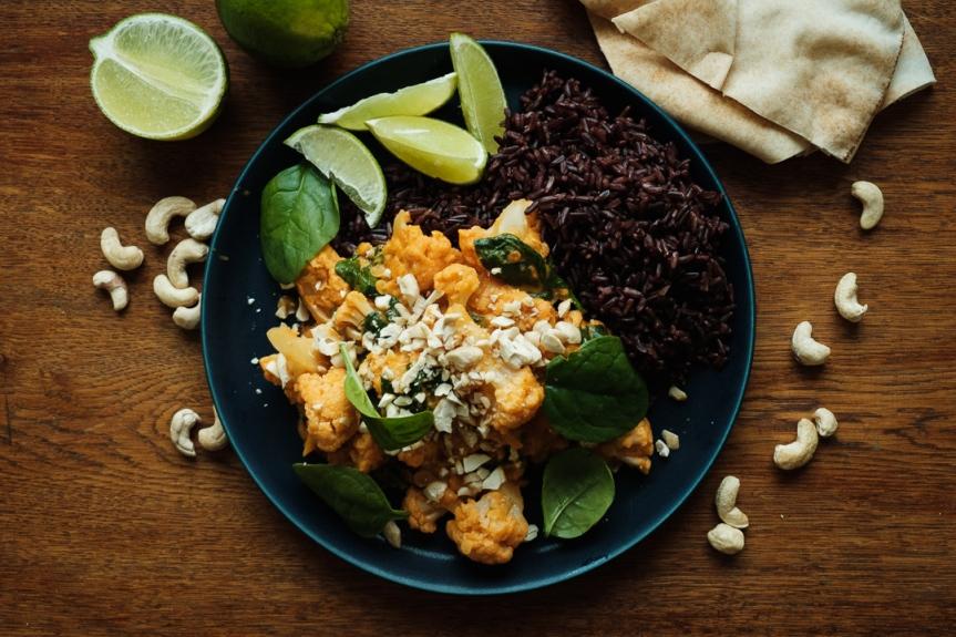 Easy quick Vegan Coconut Red-lentilcurry
