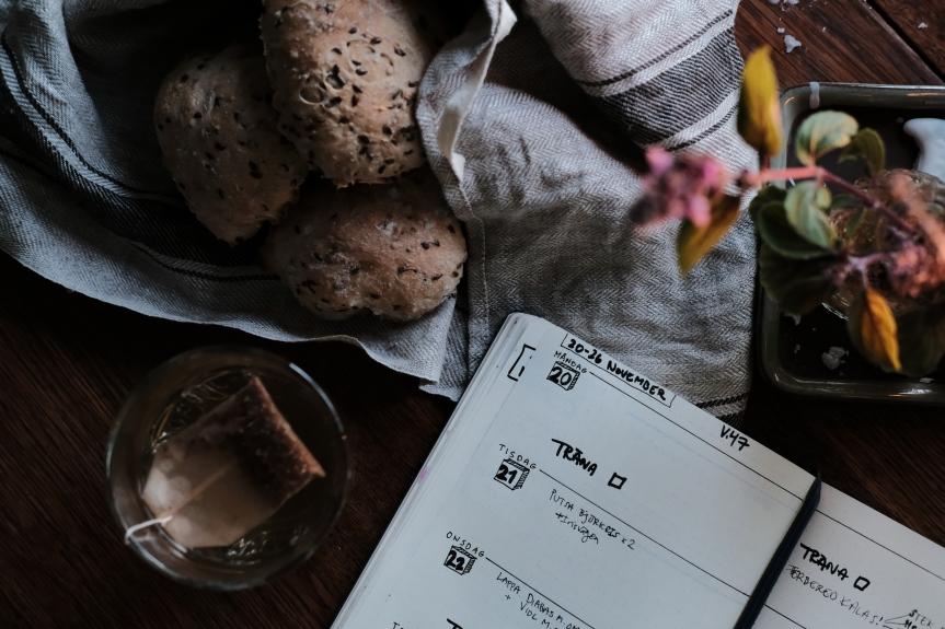 bröd och bullet journal